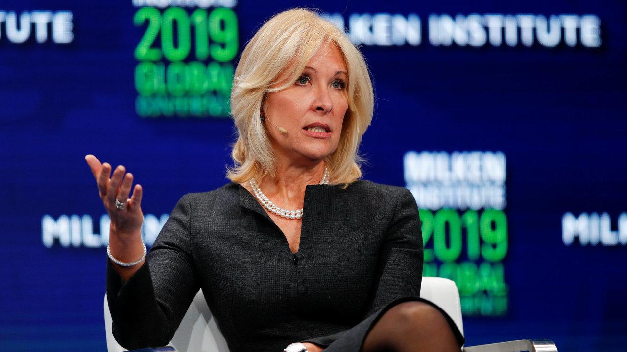 Lara Warner, Group Chief Risk Officer of Credit Suisse