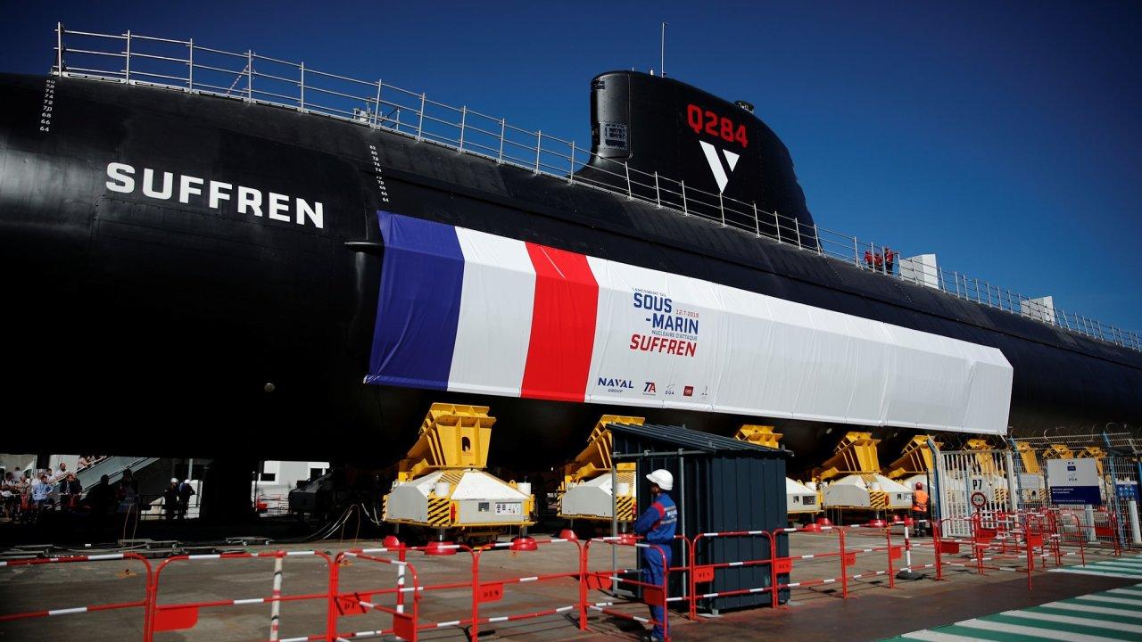 Ponorka francouzského námořnictva s názvem