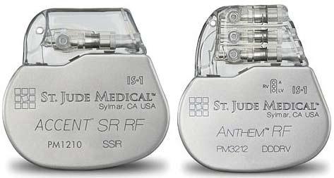 kardiostimulátor, z něhož lze údaje získat přes internet