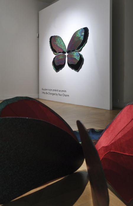 Pohled do expozice Mileny Dopitové v Moravské galerii / Foto ČTK