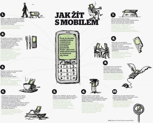 Jak žít s mobilním telefon