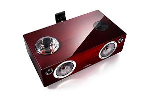 Samsung DA-E750: Luxusní zvuk  s elektronkami, tropickým dřevem a ruční prací