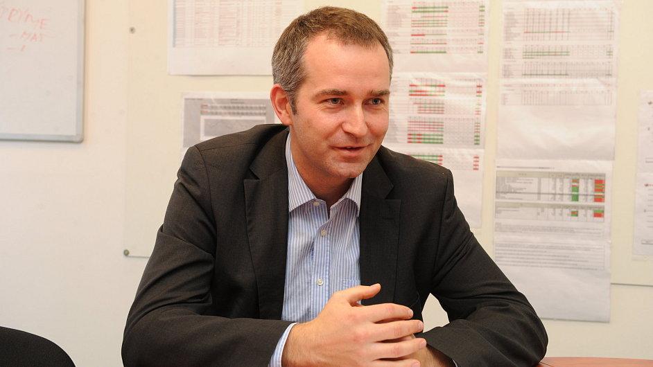 Pavel Chýňava, finanční ředitel společnosti Linet