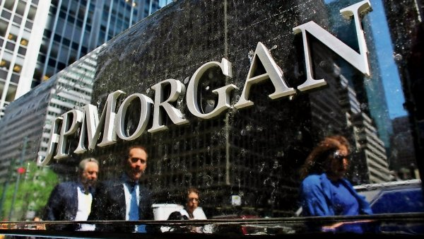 JPMorgan dosáhla rekordního zisku.
