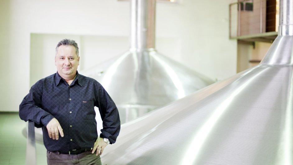 Šéf pivovaru Starobrno Milan Schramm.