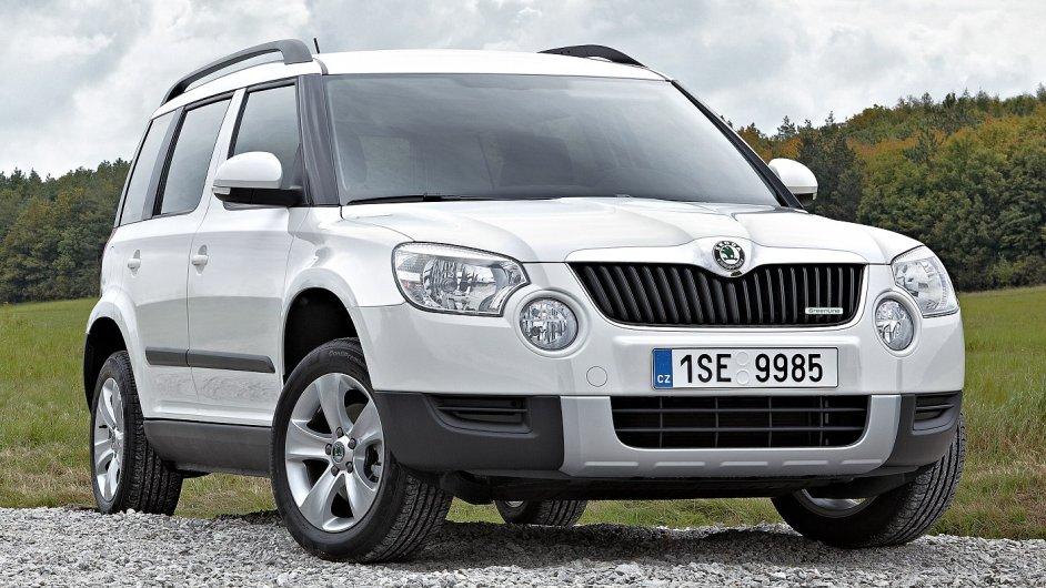 Chystané SUV Seat má být větší než model Yeti, který je na snímku.