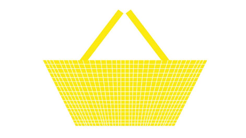 Žlutý nákupní košík znamená, že jste single.