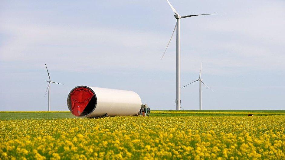 Větrná farma ČEZ v Rumunsku