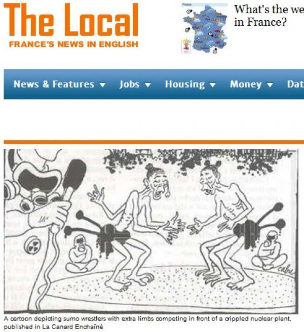 Francouzský týdeník La Canard Enchaîné rozhněval svými kreslenými vtipy Francouze
