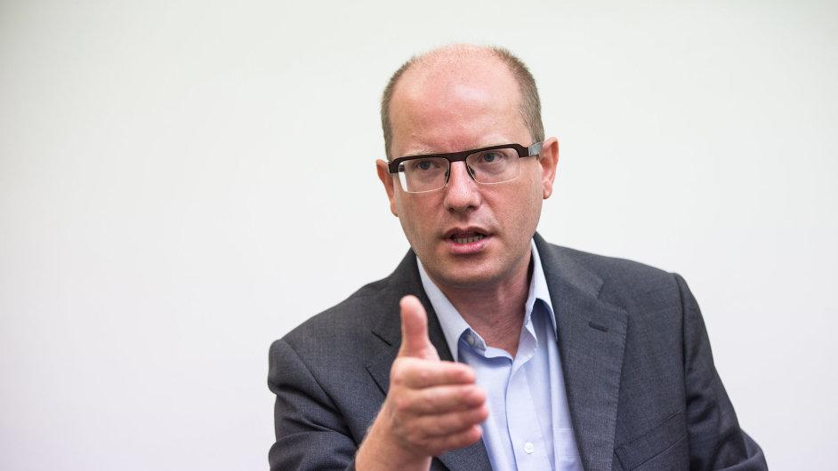 Šéf ČSSD Bohuslav Sobotka