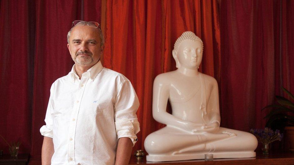 Luboš Vojtěch, praktikující buddhista a podnikatel