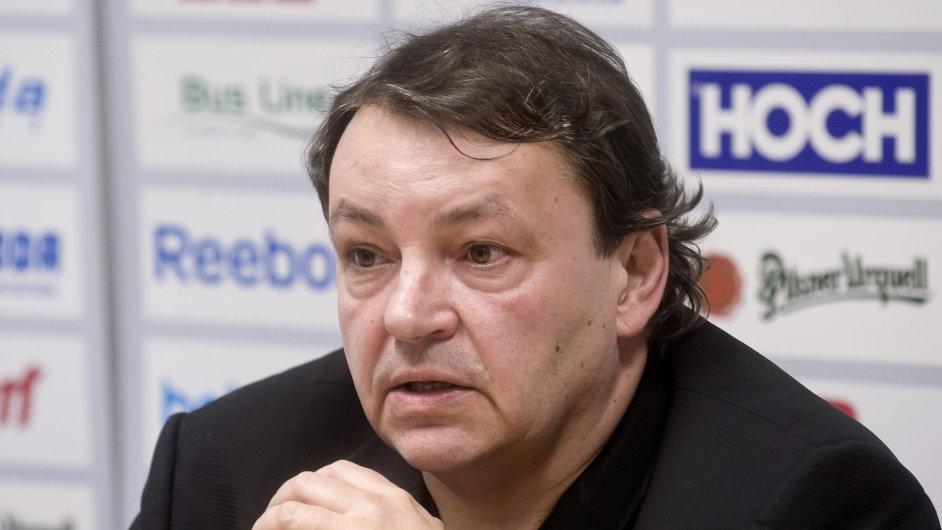Prezident Českého svazu ledního hokeje Tomáš Král