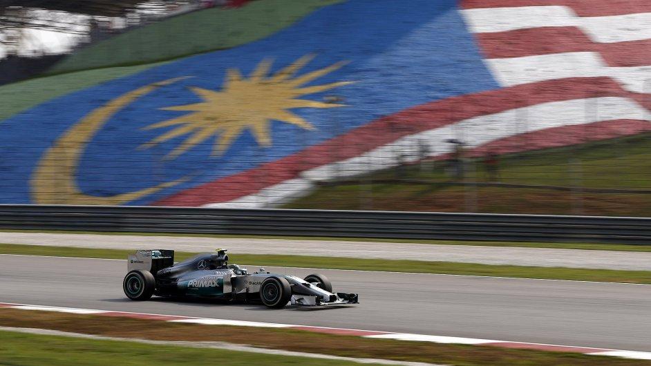 Lewis Hamilton ve Velké ceně Malajsie