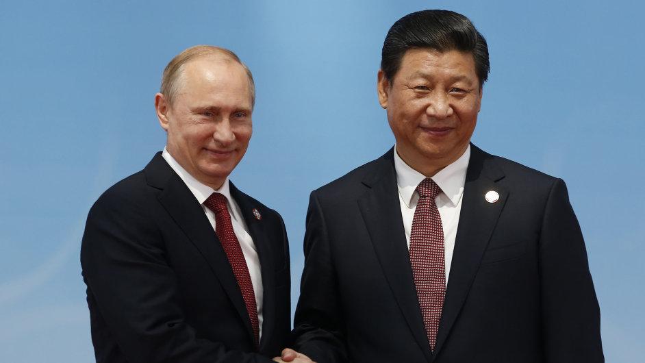 Putin na návštěvě v Číně