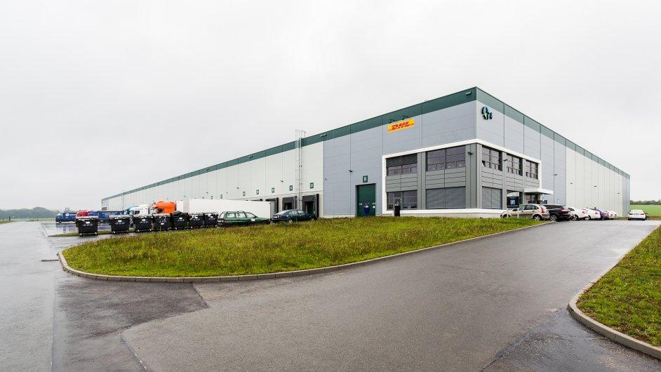 Skladová hala Prologisu získala vysoké ohodnocení v rámci certifikace BREEAM