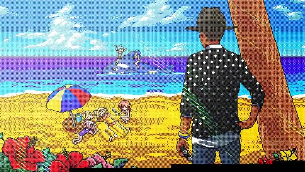 Nov� klip Pharrella Williamse vyu��v� estetiku japonsk�ch videoher
