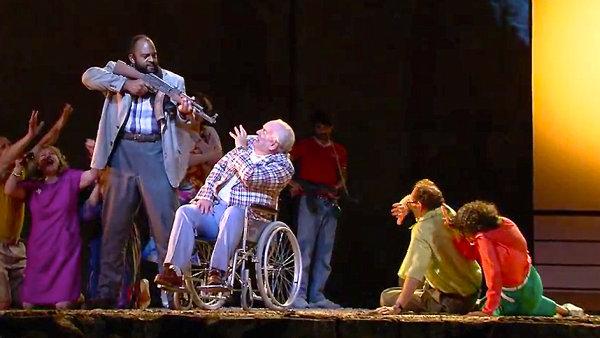 Metropolitn� opera vydala trailer ze Smrti Klinghoffera, proti n� se protestuje