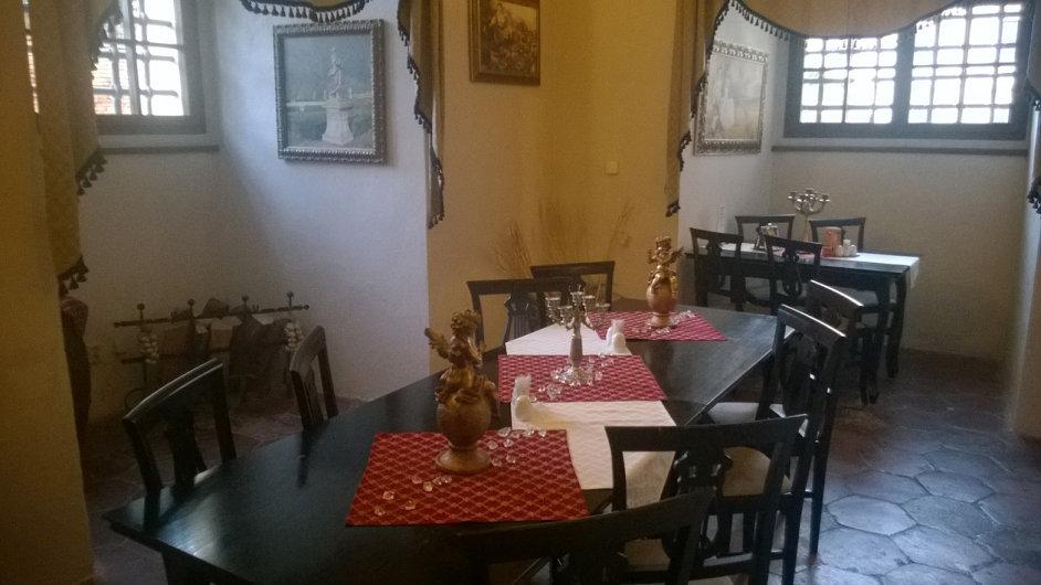 Zámecká restaurace Austerlitz u Slavkova