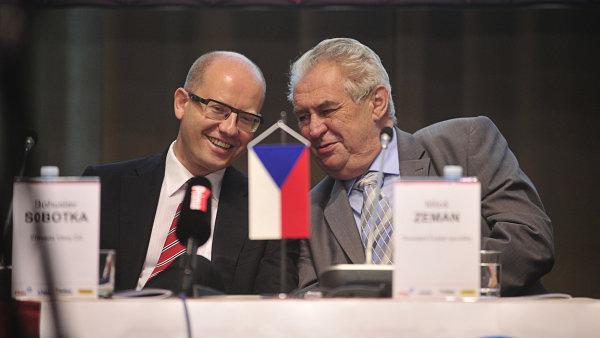 Vztah k Zemanovi je v ČSSD stále palčivým tématem - Ilustrační foto.