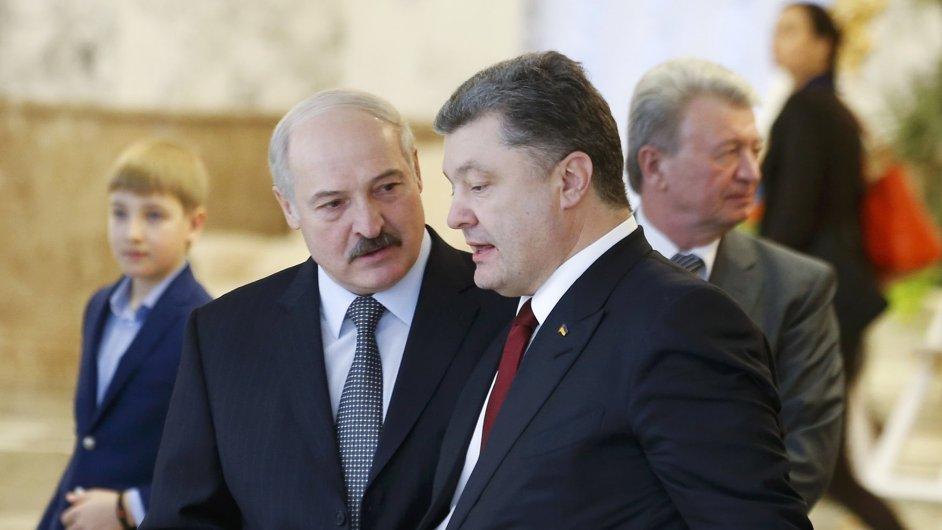 Porošenko a Lukašenko