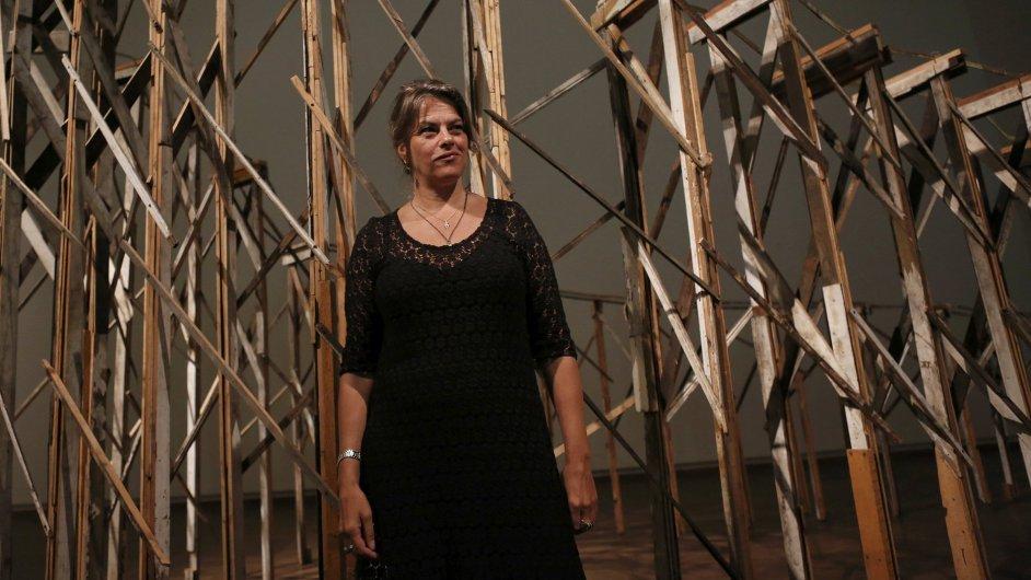 Snímky z výstavy Tracey Eminové ve Vídni