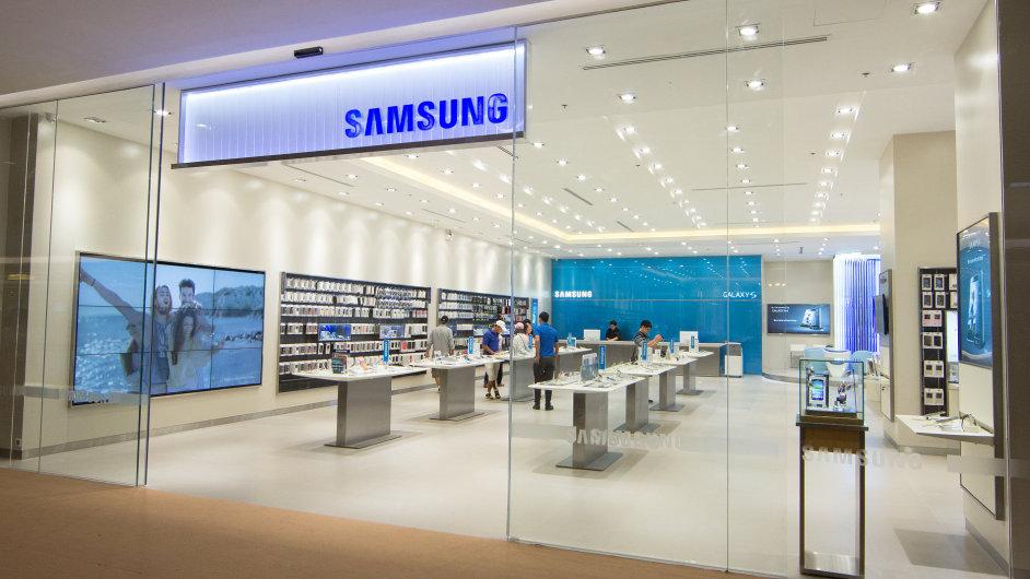 Samsungu se v prvním čtvrtletí propadl zisk - Ilustrační foto.