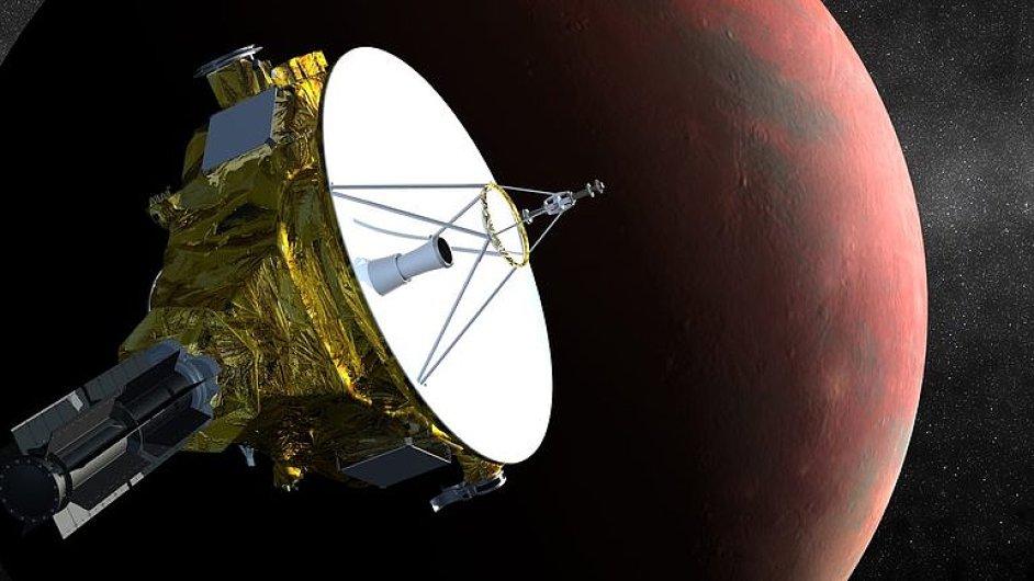 Historický mezník : Sonda New Horizons se přiblížila k Plutu