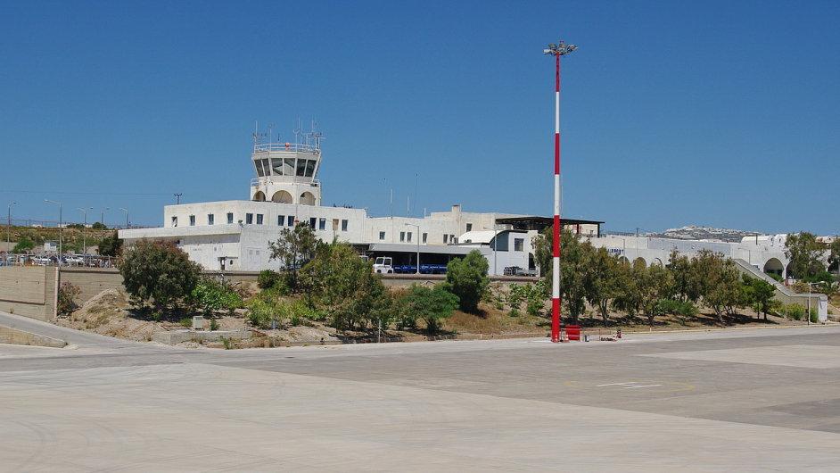 Letiště Santorini