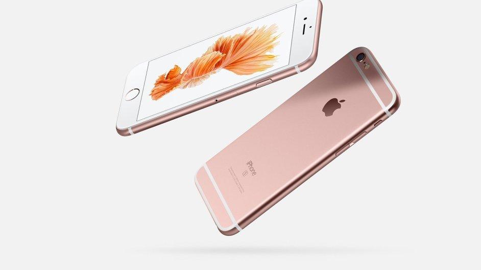 Apple iPhone 6s v růžové barvě