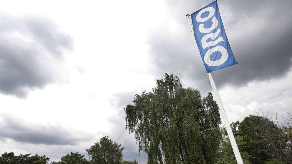 Vlajka developera Orco - Ilustrační foto.