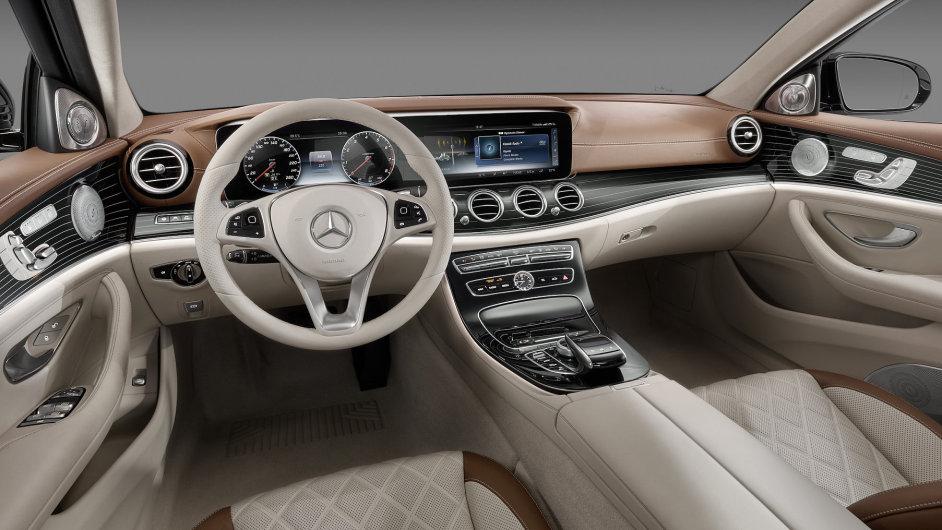 Mercedes-Benz třídy E - interiér
