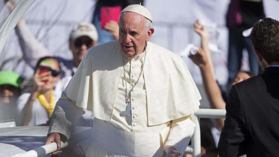 Papež František mše Mexiko