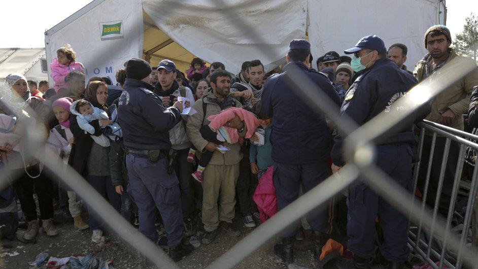 Uprchlíci v Makedonii - Ilustrační foto