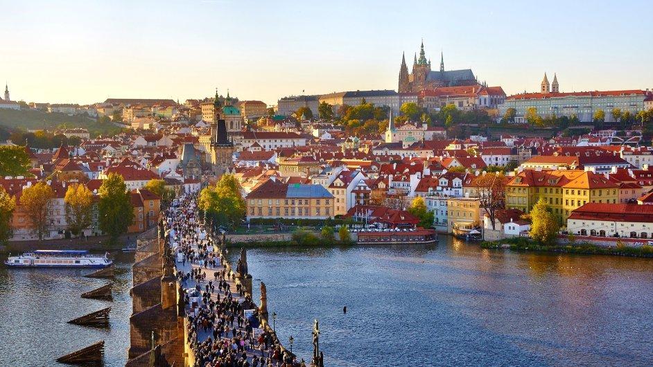 Praha patří mezi top 10 populárních měst digitálních nomádů - Ilustrační foto.