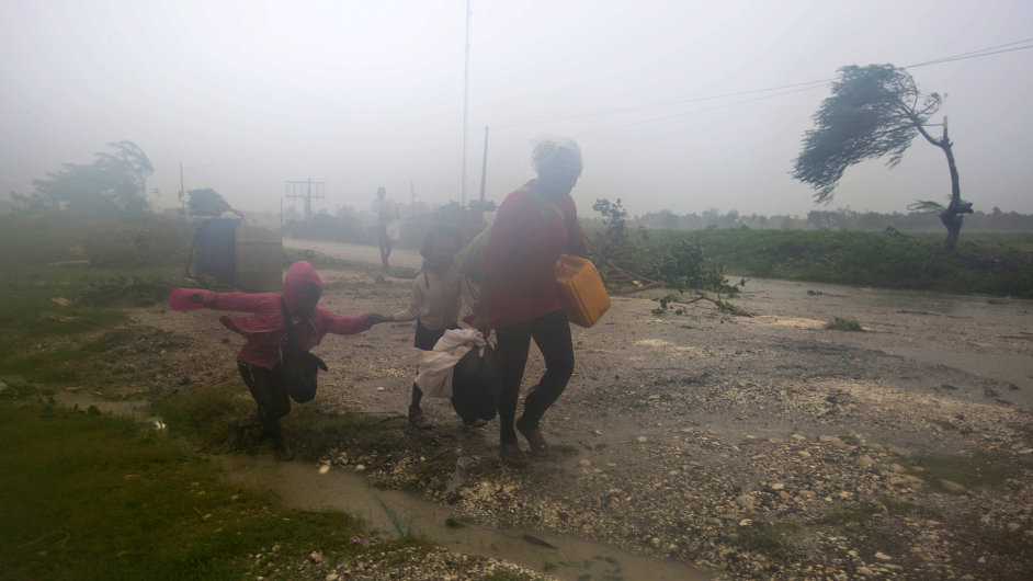 Hurikán Matthew na Haiti.