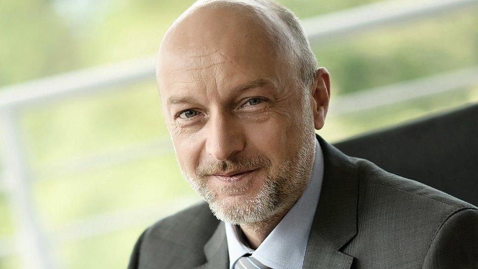 Jörg Mathew, prezident Česko-německé obchodní a průmyslové komory.