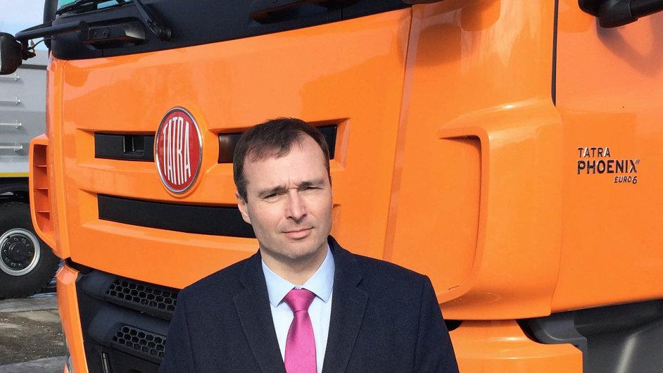 Martin Šustek se stává ředitelem obchodu amarketingu Tatra Trucks.