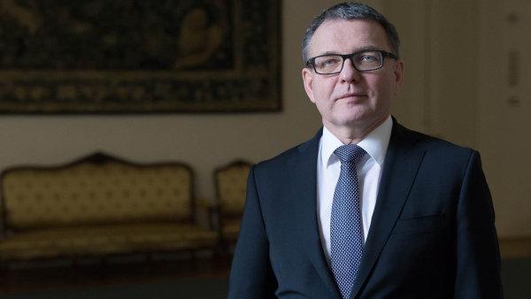 Volební lídr ČSSD Lubomír Zaorálek.
