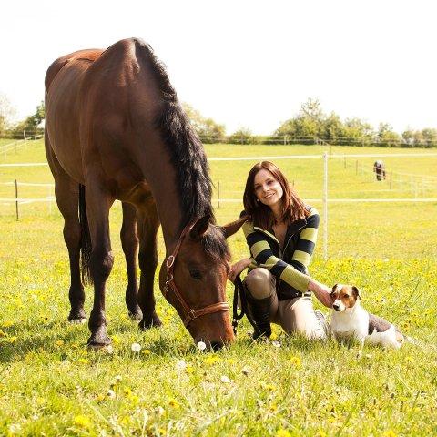 Michaela Smrčková ze společnosti Animal Cake, která vyrábí dorty pro zvířata.