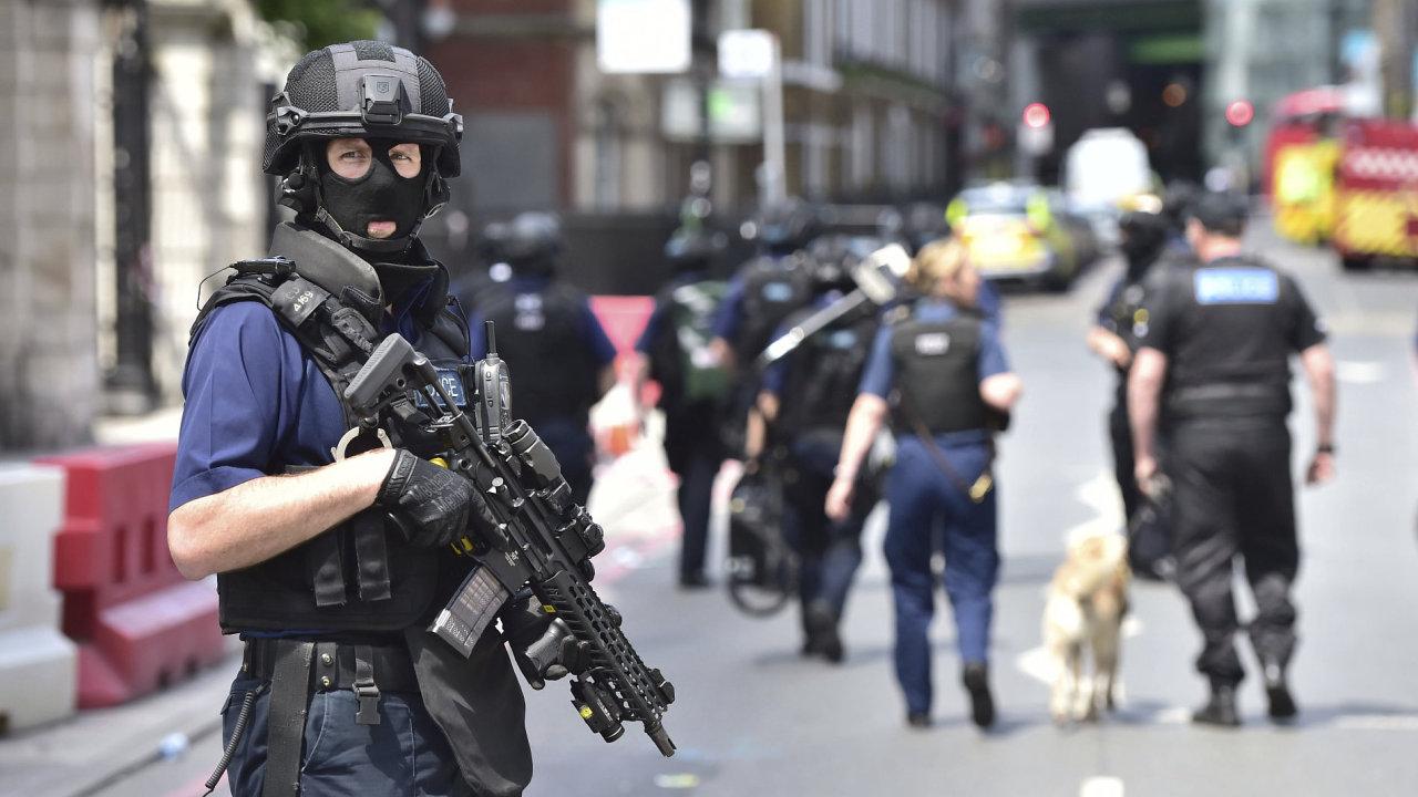 BRITANIE TERORISMUS 526 Londýn, policie, terorismus