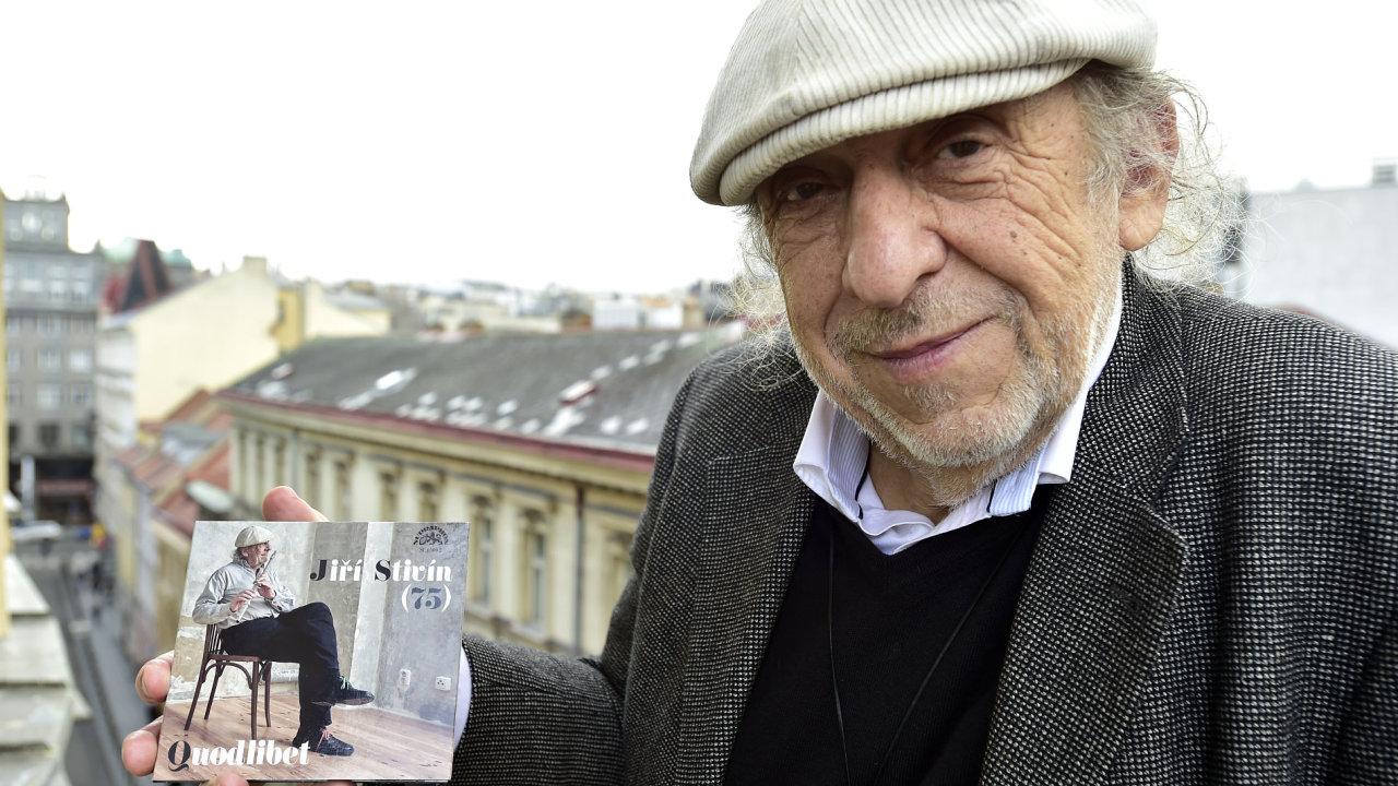 Sednout si a jen poslouchat muziku dnes už skoro nikoho nebaví, říká Jiří Stivín.