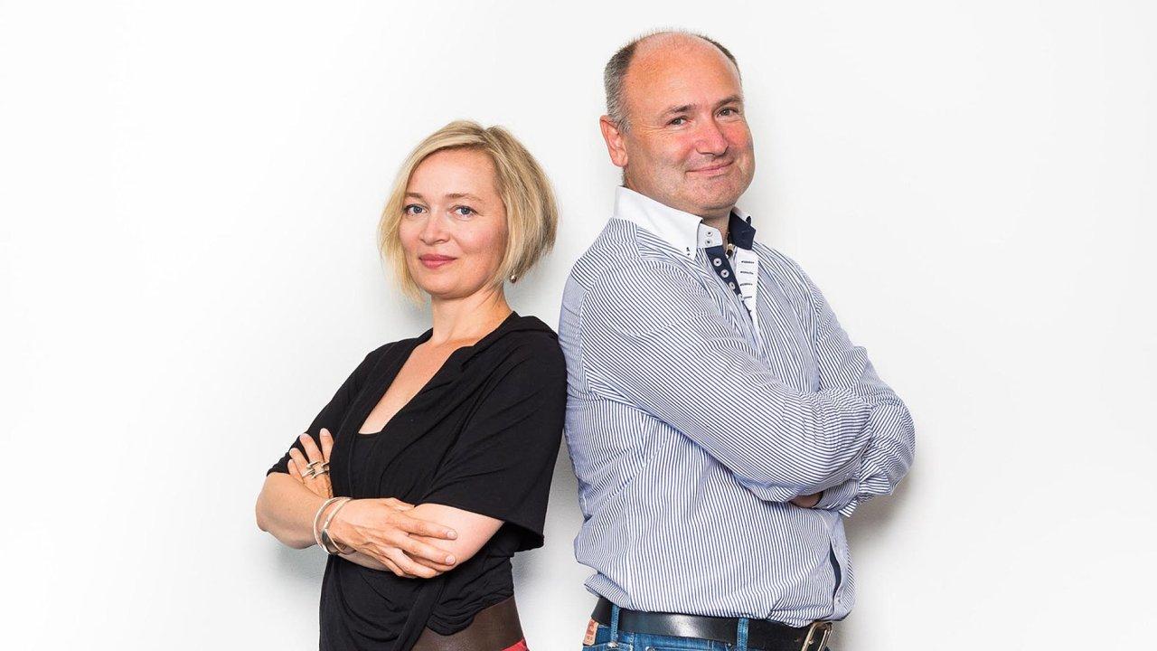 Potkali se veVodafonu: Kateřina Ailová aRudolf Čihák spolu pracovali už pro mobilního operátora Vodafone.