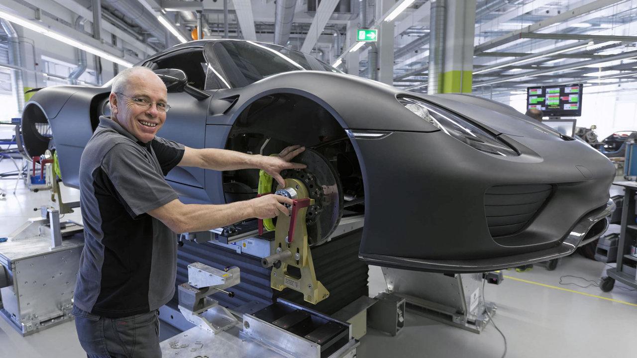 Výroba Porsche 918 Spyder
