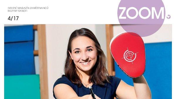 Zaměstnanecký časopis skupiny Sanofi pod názvem Zoom