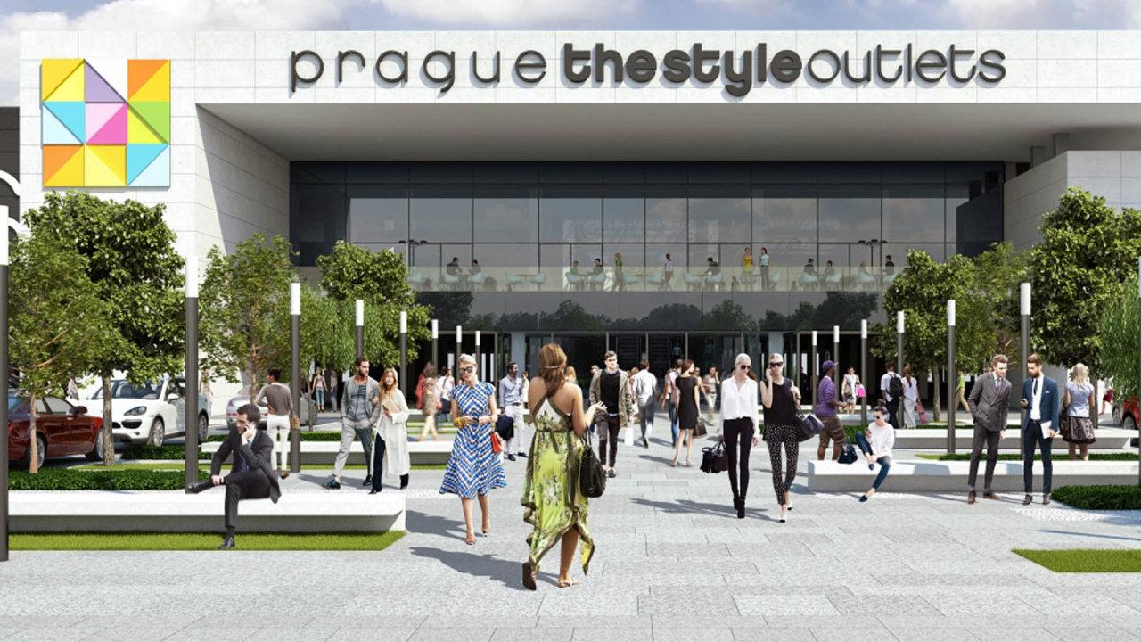 Obchodní centrum Prague The Style Outlets se má zákazníkům otevřít už v dubnu. Jaké obchody tam najdou, ale stále není jasné.