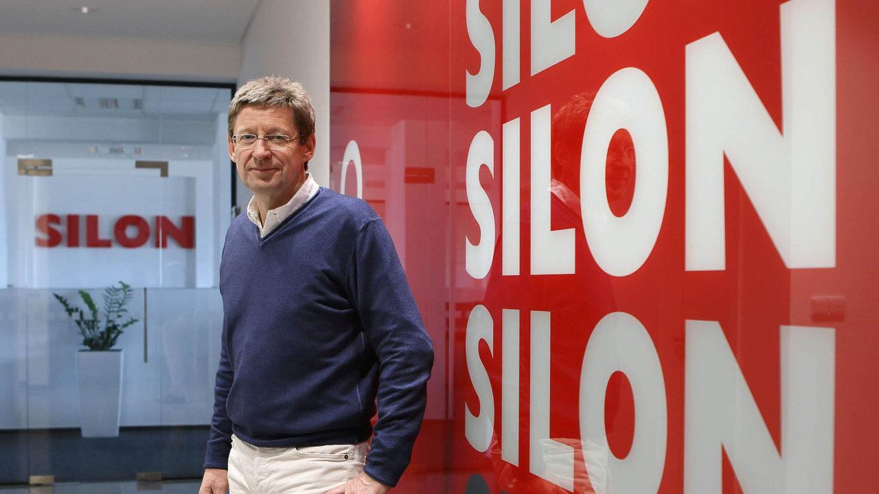 Ředitel společnosti Silon Bernd Morawitz.