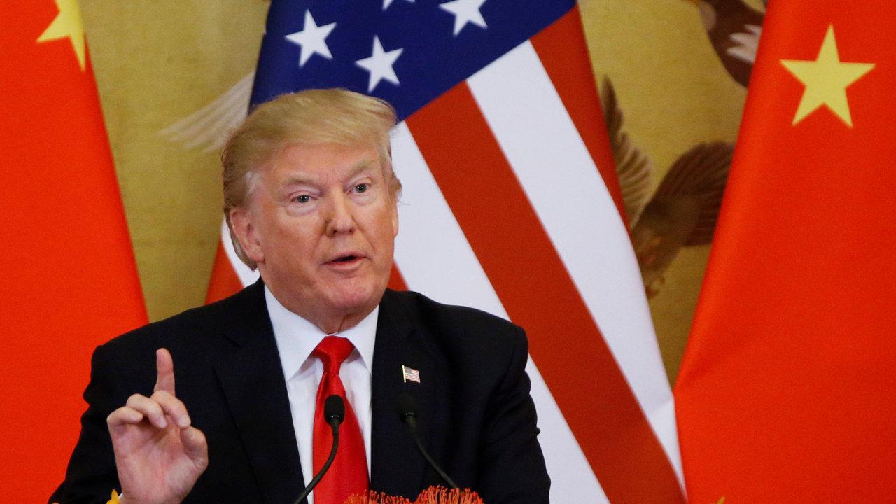 Asijské turné Donalda Trumpa
