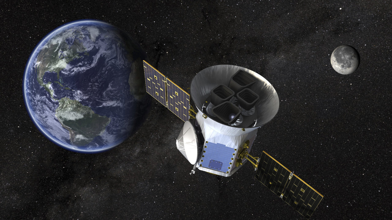 Z Floridy odstartovala raketa s vesmírným teleskopem TESS