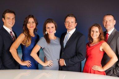 Moderátoři zpravodajství TV Barrandov