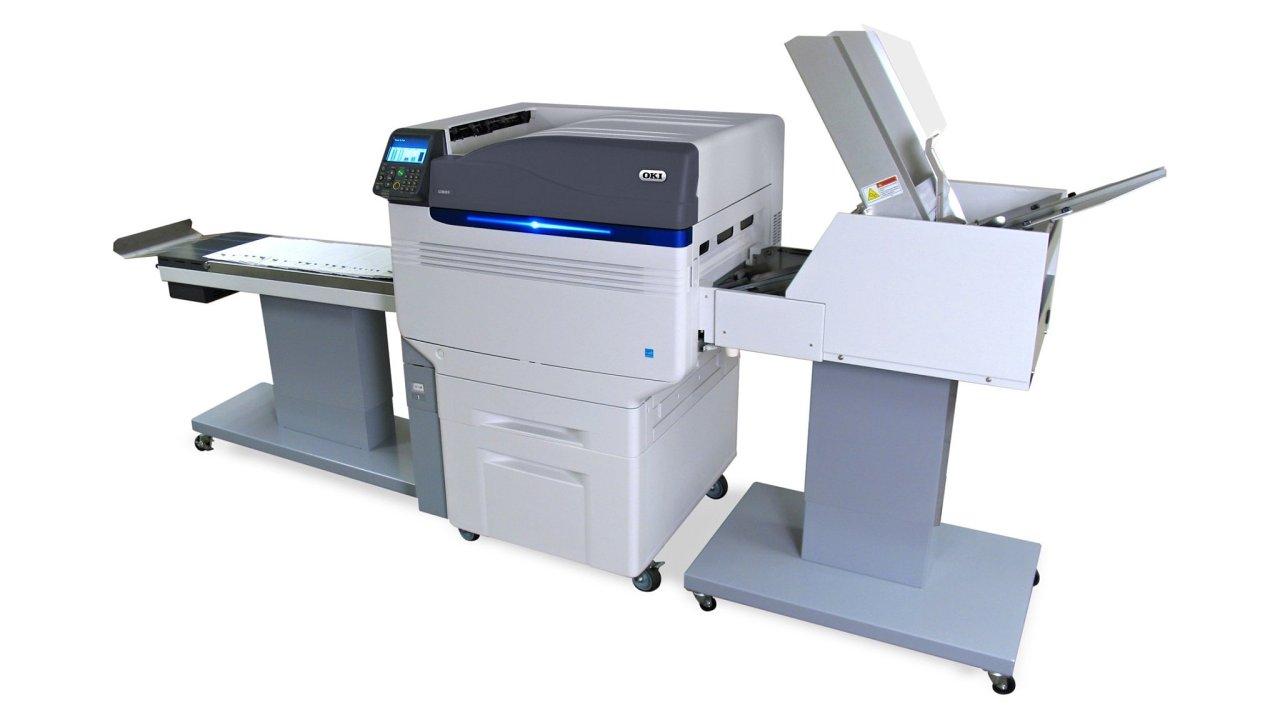 Tiskové řešení OKI Pro9 Envelope Print System bude k vidění na veletrhu Reklama Polygraf Obaly 2019